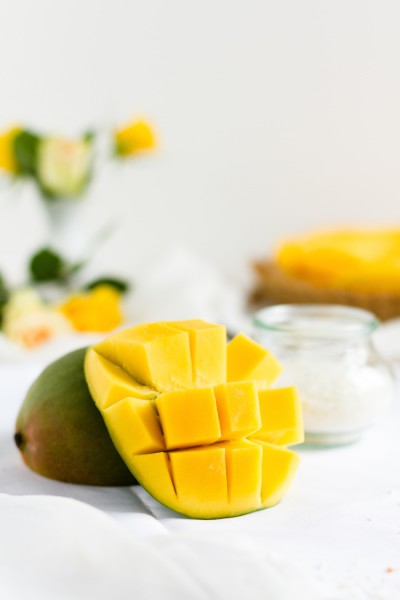 Vegane Mango Kokos Tarte I Vegan Mango Cocos Tarte I haseimglueck.de