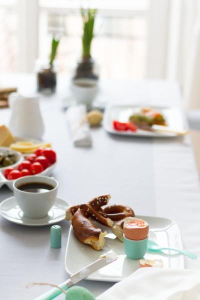 Frühstück Ostern I Easter Brunch I haseimglueck.de