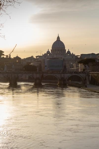 Rome City Trip - Tiber & St. Peter's Basilica I haseimglueck.de