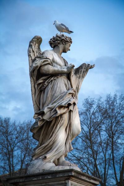 Rome City Trip - Ponte Sant'Angelo I haseimglueck.de