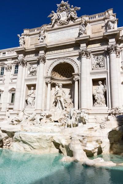 Rome City Trip - Fontana di Trevi I haseimglueck.de