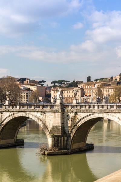 Rome City Trip - Ponte Vittorio Emanuele II I haseimglueck.de