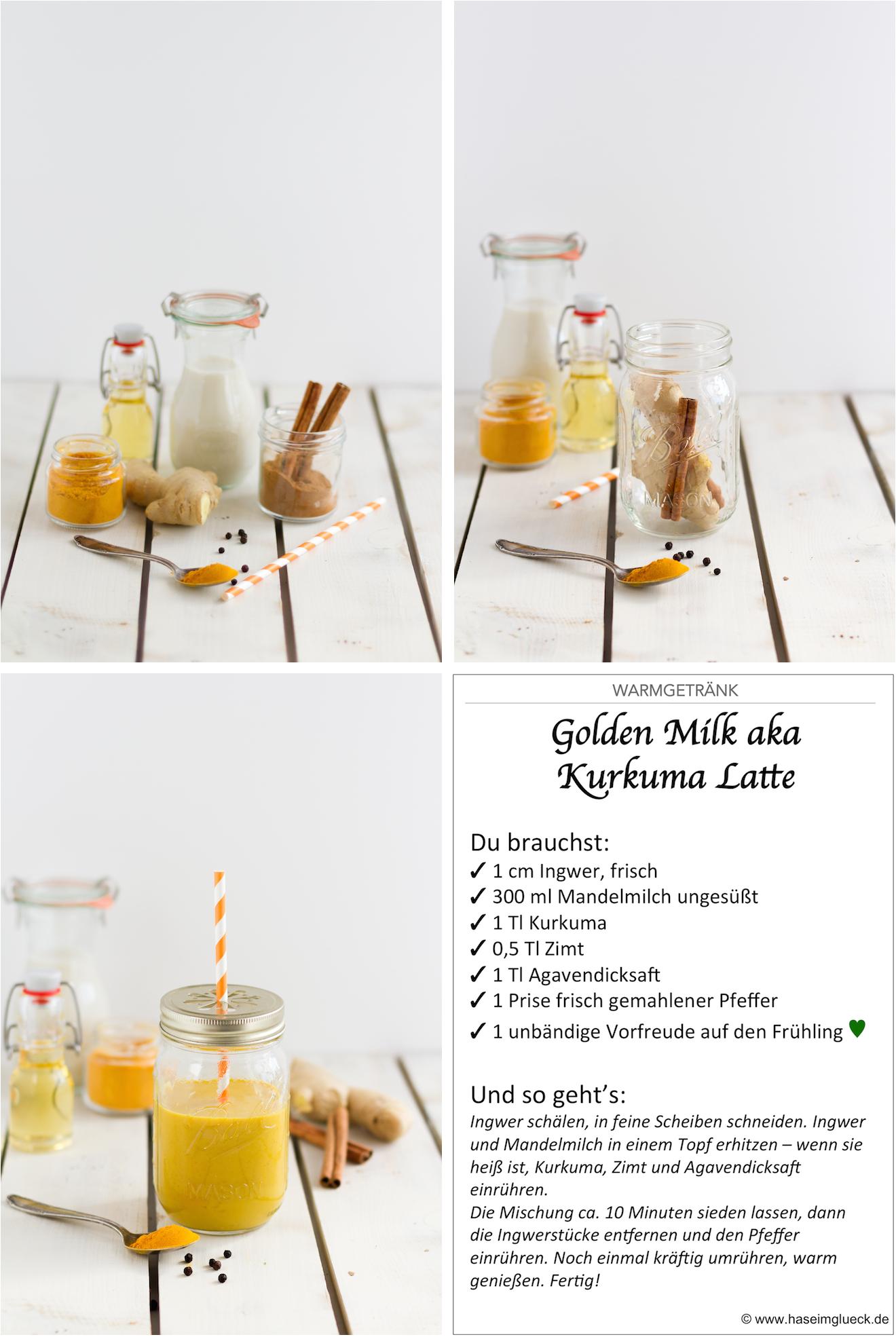 Curcuma Goldene Milch