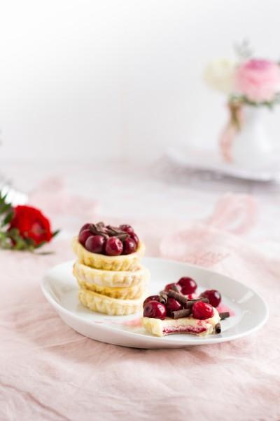 Mini Käsekuchen Häppchen mit Früchten I Cheesecake to go with Fruit I haseimglueck.de