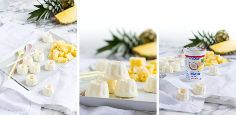 Joghurt Mascarpone Eiskonfekt I Yogurt Mascarpone Ice Cream Confectionery I haseimglueck.de