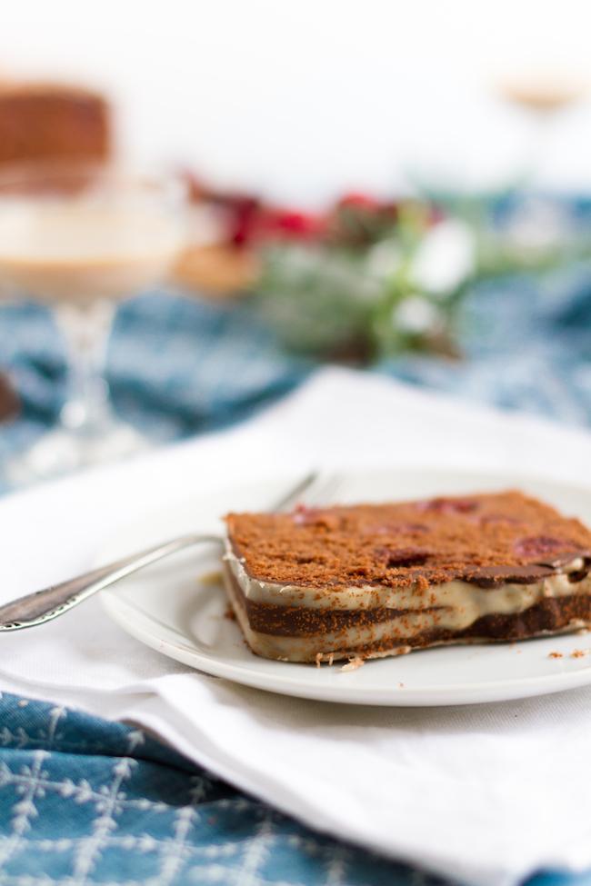 Schokoladen Kirsch Kuchen Mit Baileys Glasur Hase Im Gluck