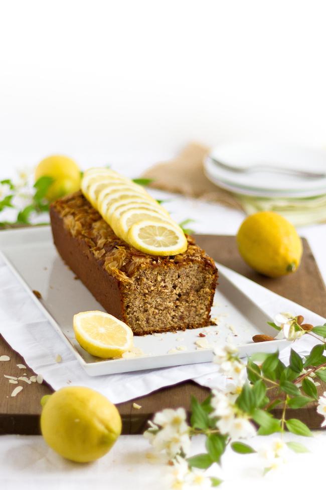 Italienischer Mandel Ricotta Zitronen Kuchen Hase Im Gluck