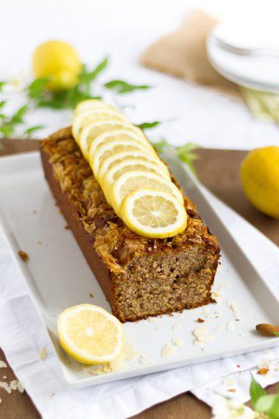 Kuchen mit Mandeln, Ricotta & Zitronen I Almond, Ricotta & Lemon Cake I haseimglueck.de
