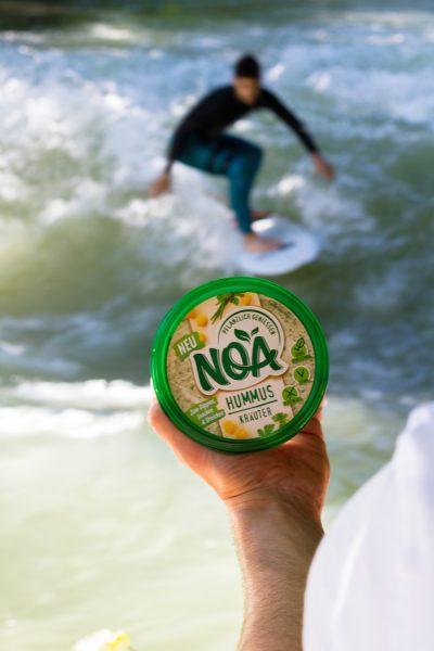 Noa Pflanzlich Hummus Kräuter