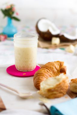 Weiße Schokolade Kokos Aufstrich I White Chocolate Coconut Spread