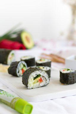 Vegetarische Hoso Maki Sushi I Vegetarian Hoso Maki Sushi