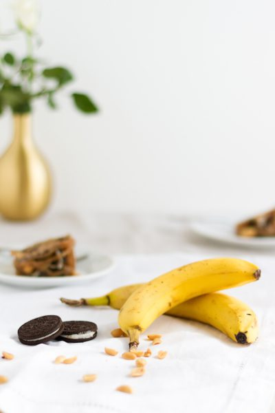 Oreo Erdnuss Zimt Bananenbrot I Oreo Peanut Cinnamon Bananabread