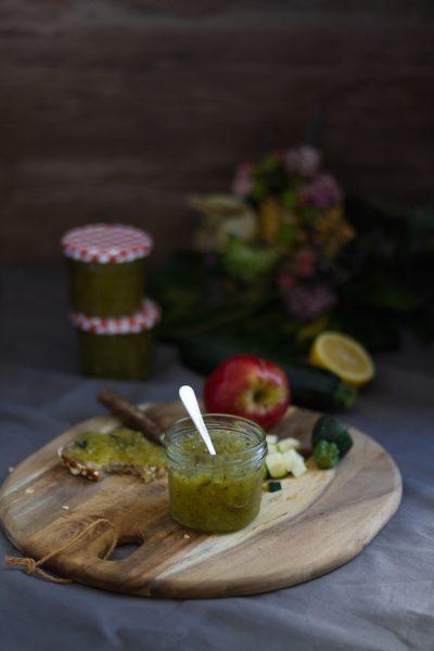 Zucchini Apfel Marmelade I Zucchini Apple Jam