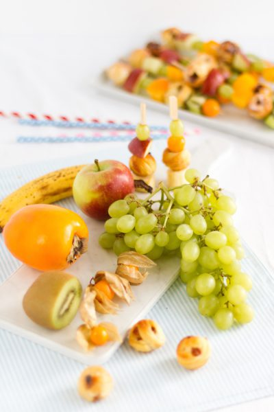 Rosinenschnecken Cake Pops Frucht Spiesse I Raisin Rolls Cake Pops Fruit Skewers