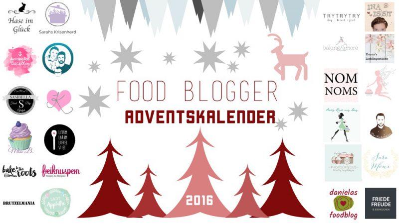 Foodblogger Adventskalender Bloggerübersicht