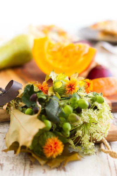 Flammkuchen mit Kürbis & Birnen I Tarte Flambee with Pumpkin & Pears
