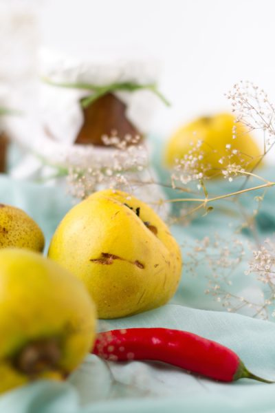 Quitten Birnen Chutney I Quinces Pears Chutney