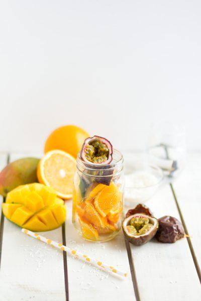 Smoothie Mango, Maracuja, Kokos I Smoothie Mango, Passionfruit & Coconut