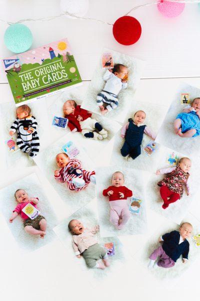 Baby Erstaustattung Milestone Cards