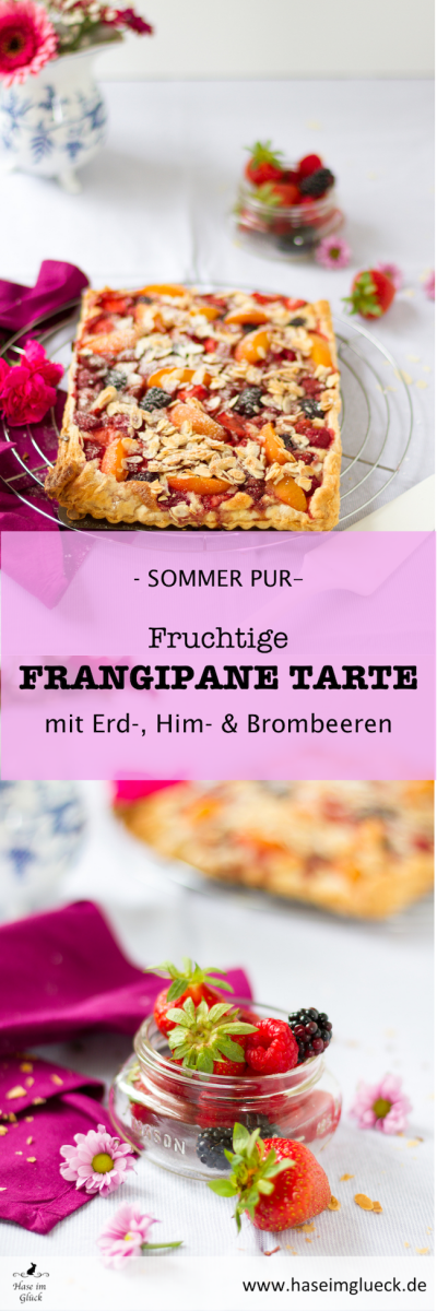 Frangipane Tarte mit Erdbeeren I Frangipane Tarte with Strawberries
